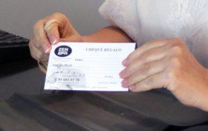 Detalle cheque regalo